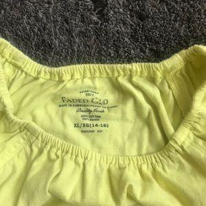 Faded Glory Dresses - Girls cute 🌼 yellow summer dress,